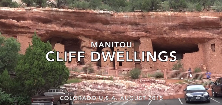 Manitou Cliff Dwellings, Manitou Springs, Colorado, U.S.A.