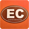 EC Elongated Coin Collector Euro Style Oval Auto Car Window Bumper Sticker Decal