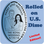 Royal Wedding of Prince Harry and Meghan Markle | Retired Limited Edition Dime!!