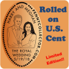 Royal Wedding of Prince Harry and Meghan Markle | Retired Limited Edition Cent!!