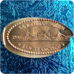 California | San Francisco | Pier 45 | Liberty Ship S.S. Jeremiah O'Brien Penny!