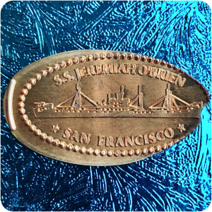 California | San Francisco | Pier 45 | Liberty Ship S.S. Jeremiah O'Brien Penny!