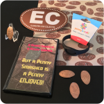 Starter Kit: Pennybandz® Wristband, Penny Album, EC Decal, Coin Easel, 4 Pennies